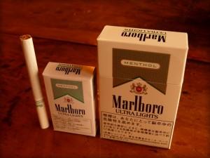 タバコの箱