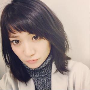 大島優子 黒髪