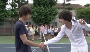 テニス対決