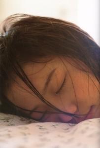長澤まさみ 寝顔2