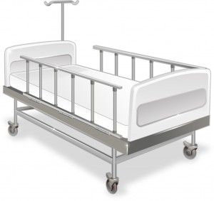 医療ベッド フリー素材