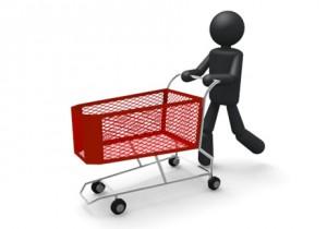 買い物 フリー素材