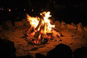 たき火 フリー素材