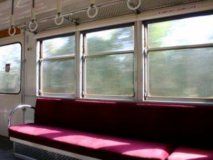 電車 車窓 フリー素材