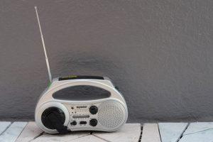 ラジオ フリー素材